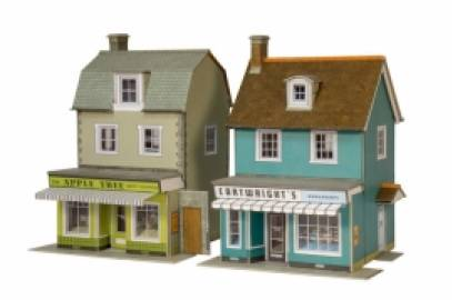 Two Country Town Shops