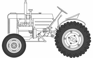 A1367 us-tractor line-art