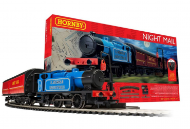 R1237m hornby night mail train set-box