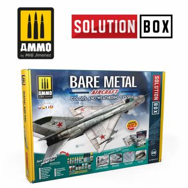 AMIG7721-How-to-paint-bare-metal-aircraft-colors-and-weathering-system-solution-box